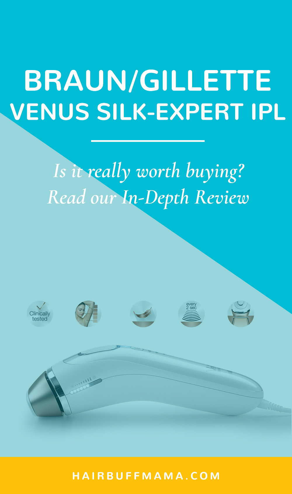 Braun Silk-Expert IPL Review and Comparison (BD5001, BD5008, BD5009)